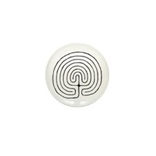 Cool Labyrinth Mini Button (100 pack)