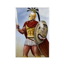 Spartan Rectangle Magnet