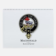 Clan MacDonald Wall Calendar