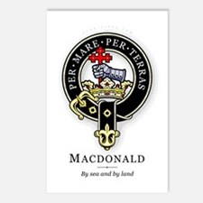 Clan MacDonald Postcards (Package of 8)