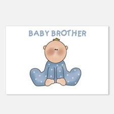 Baby Brother Postcards (Package of 8)