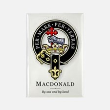 Clan MacDonald Rectangle Magnet