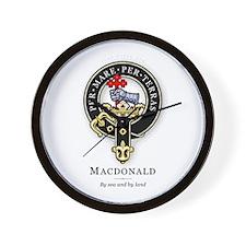 Clan MacDonald Wall Clock