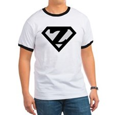 Super Black Z Logo T
