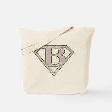 Super Vintage B Logo Tote Bag