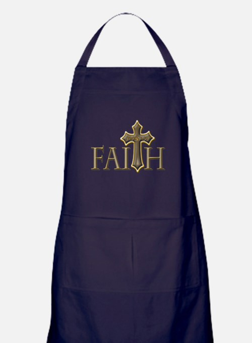 Man of Faith Apron (dark)