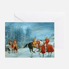 Perceval's Trance Greeting Card