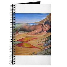 Unique Beach art mermaids Journal