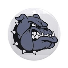 BULLDOG Ornament (Round)