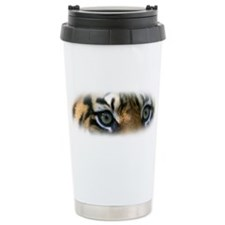 Travel Mug featuring the eyes of a