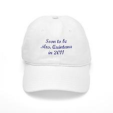 Soon to be Mrs. Quintana in 2011 Baseball Cap