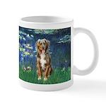 Lilies5-AussieShep (#5) Mug