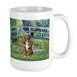 Bridge-Aussie Shep (#5) Large Mug