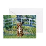 Bridge-Aussie Shep (#5) Greeting Cards (Pk of 10)