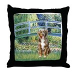 Bridge-Aussie Shep (#5) Throw Pillow