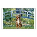 Bridge-Aussie Shep (#5) Sticker (Rectangle 10 pk)