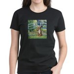 Bridge-Aussie Shep (#5) Women's Dark T-Shirt