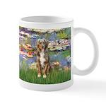 Lilies2-Australian Shep (#5) Mug