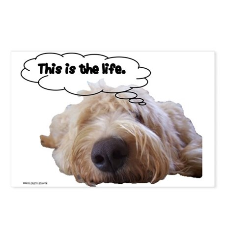 This is the life. Postcards (Package of 8)