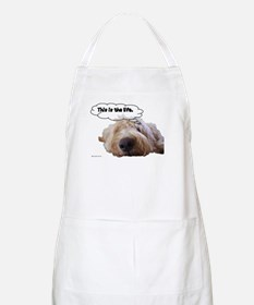 This is the life. BBQ Apron