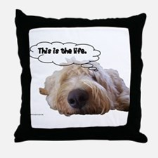 This is the life. Throw Pillow
