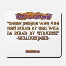 William Penn on Who Rules Mousepad