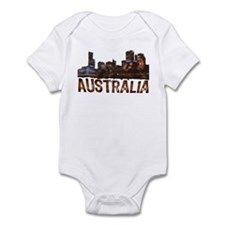 Australia Cityscape Infant Bodysuit
