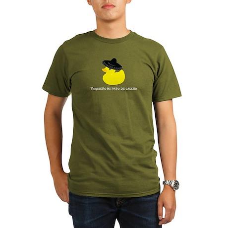 Mexican Rubber Ducky Organic Men's T-Shirt (dark)