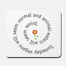 Normal vegan Mousepad