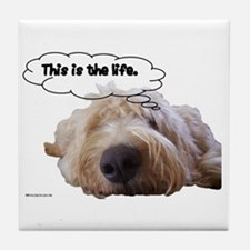This is the life. Tile Coaster