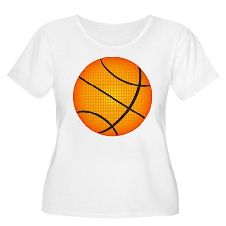 Basketball Women's Plus Size Scoop Neck T-Shirt