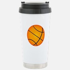 Basketball Stainless Steel Travel Mug