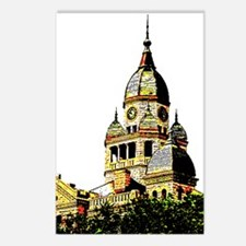 Illustrated Courthouse Postcards (Package of 8)