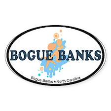 Bogue Banks NC - Seashells Design Decal