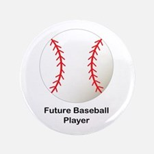 "Future Baseball 3.5"" Button"