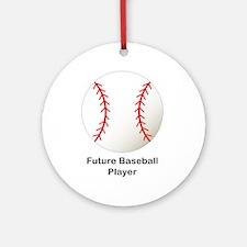 Future Baseball Ornament (Round)