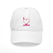 I LOVE MY SPONSOR Baseball Cap