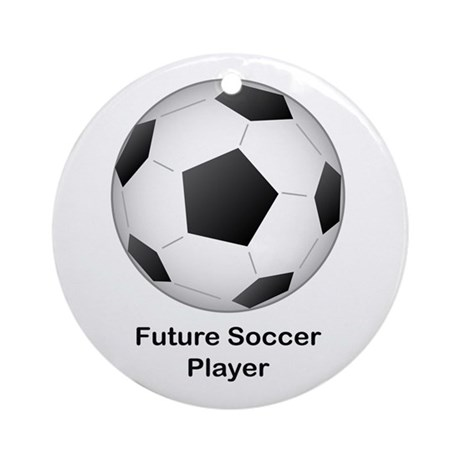Future Soccer Ornament (Round)