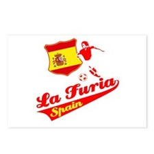 Spanish soccer Postcards (Package of 8)