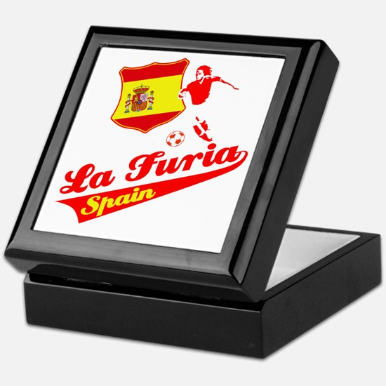 Spanish soccer Keepsake Box