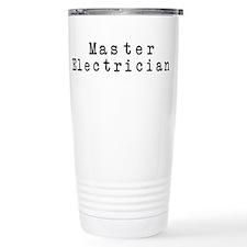 Master Electrician Ceramic Travel Mug