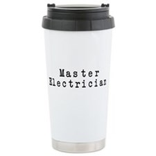 Master Electrician Travel Mug