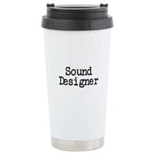 Sound Designer Travel Mug
