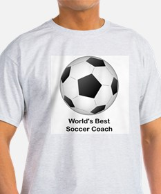 World's Best Soccer Coach T-Shirt