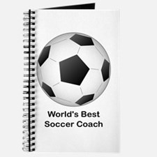 World's Best Soccer Coach Journal