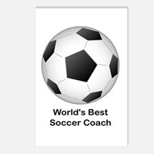 World's Best Soccer Coach Postcards (Package of 8)