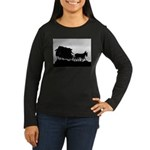 Father's Day Gifts Women's Long Sleeve Dark T-Shir