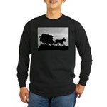 Father's Day Gifts Long Sleeve Dark T-Shirt