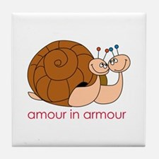 Amour In Armour Tile Coaster