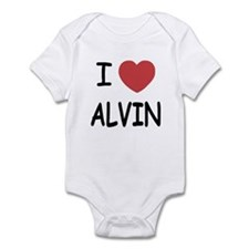 I heart Alvin Infant Bodysuit